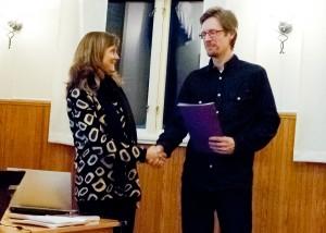 Ann Ekman, Telia och Oscar Abrahamsson, Fotskäl