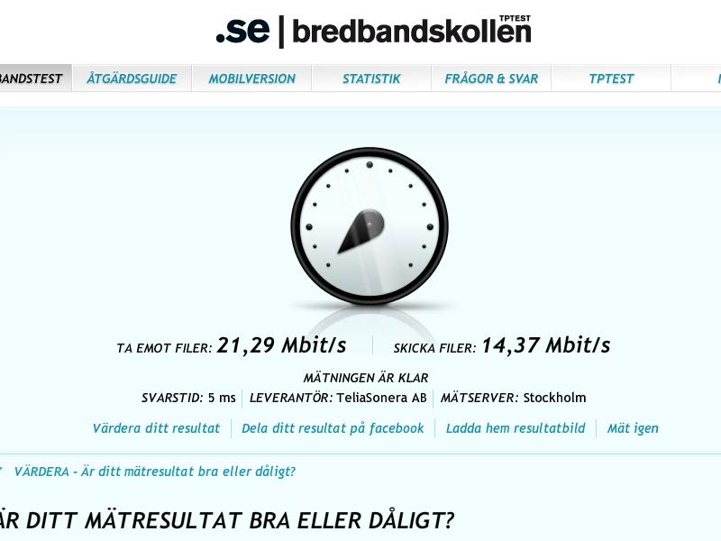 telia driftstörning bredband företag
